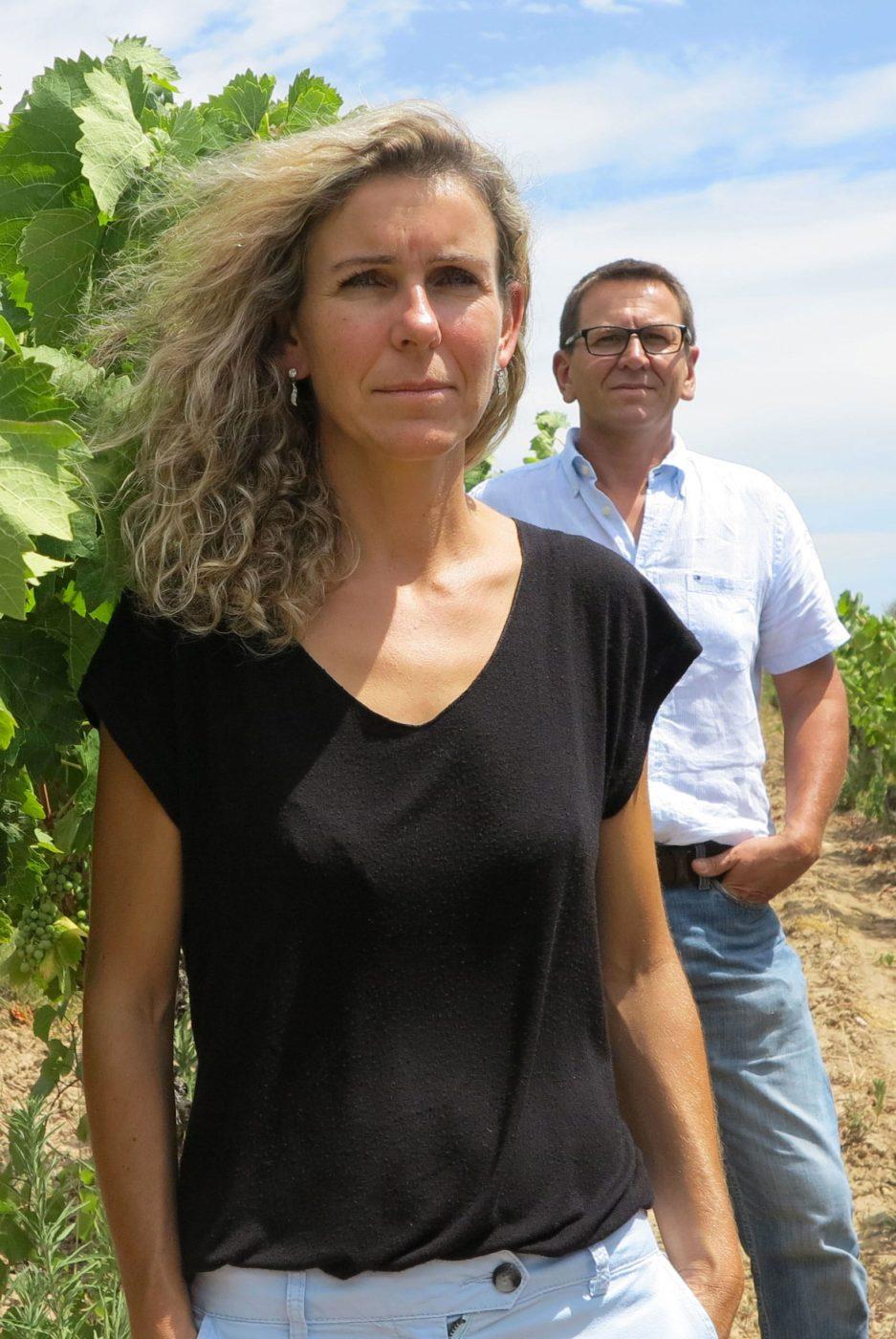 Sylvie et Christophe du Clos de Vènes